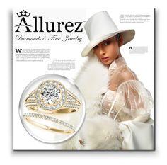 """ALLUREZ 6/15"" by victoria-bella-donna ❤ liked on Polyvore featuring Allurez, jewelry, contestentry, allurez and jewelryset"
