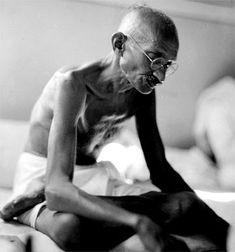 M. Gandhi founder of Non Violence Movement,  Father of Independent India  1869 - 1948