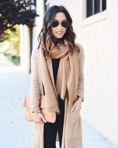 tan + coat