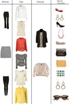 simple wardrobe.