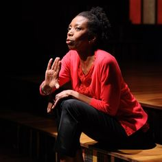 "Sharon Washington in autobiographical play ""Feeding the Dragon"" #FeedingTheDragon"