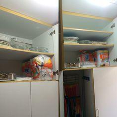 Antes y después trabajo en #melamina #203ghs #lavanderia #optimizandoespacios