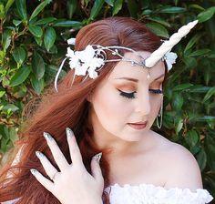 Unicorn Crown Unicorn Headpiece Unicorn by OnGossamerWings on Etsy