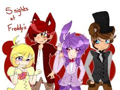 EDIT::: Ok, this is simply getting very annoying for me. Yes, I know Bonnie is a boy, I understand that already. Don't need to remind me multiple times. But I saw Bonnie as a girl while I was makin...