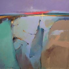 Dawn over Jura by Peter Wileman PROI ARSMA FRSA. Beautiful color