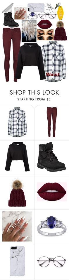"""Untitled #471"" by army-4-life on Polyvore featuring Rails, Vero Moda, Golden Goose, Timberland, Accessorize, Miadora and Three Potato Four"