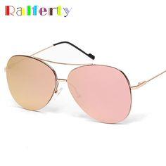 $7.19 (Buy here: https://alitems.com/g/1e8d114494ebda23ff8b16525dc3e8/?i=5&ulp=https%3A%2F%2Fwww.aliexpress.com%2Fitem%2Fw1019%2F32649062884.html ) Pink Pilot Sunglasses Women Men Mirrored Coating Oval Sun Glasses UV400 Outdoor Sport Goggles Blue lunette Oculos Points1019 for just $7.19