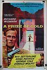 1955 A PRIZE OF GOLD Original Movie Poster RICHARD WIDMARK MAI ZETTERLING - 1955, Gold, Movie, ORIGINAL, Poster, PRIZE, Richard, Widmark, ZETTERLING