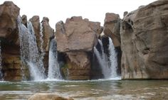 Afrineh waterfall, Pol-dokhtar -  Lorestan, Iran (in Persian: آبشار زیبای افرینه-پلدختر)