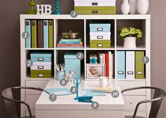 See Jane Work - I love this website.  Makes me wish I had a home office and more money for my organizing budget.