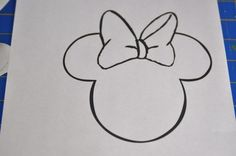 Minnie Mouse Applique Tutorial
