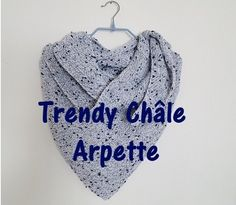 0.Châle Arpette Knitting, Diy, Scarfs, Blog, Simple, Awesome, Templates Free, Creative Crafts, Wool