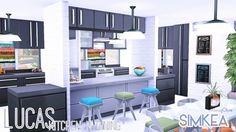 Lucas Kitchen n Dining at Simkea via Sims 4 Updates