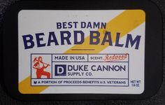 Duke Cannon Best Beard Balm, 1.6 oz Tin | Health & Beauty, Hair Care & Styling, Treatments, Oils & Protectors | eBay!