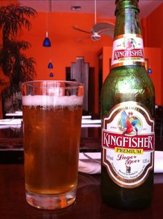 Kingfisher...great beer from India.