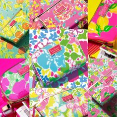 Lilly Pulitzer & Estee Lauder Make-up Bag Collaboration Spring 2014 Lilly Pultizer, Preppy Southern, Southern Prep, Preppy Style, My Style, Prep Life, No Bad Days, Estee Lauder, Makeup Cosmetics