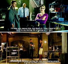 Arrow - Oliver & Felicity #Olicity