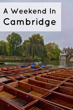 A Weekend In Cambridge: Day Three - Ever Changing Scenery