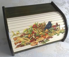 Decoupage Art, Decoupage Ideas, Chalk Paint, Painted Furniture, Home Accessories, Old Things, Crafts, Diy, Painting