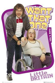 Little Britain : Andy And Lou - Maxi Poster x new and sealed Little Britain, British Humor, British Comedy, Chatty Man, Ugly Americans, The Mighty Boosh, Television Program, Adult Humor, I Laughed