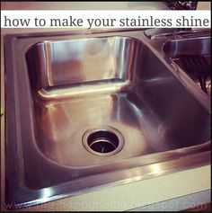 How to clean stainless steel for real cleanses stainless steel and steel - Make bathroom shine ...