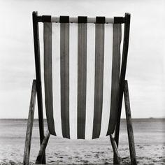 Striped Canvas Deck Chair  Manuela Höfer