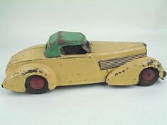Auction by American Antique Auctions: Antique Toys, Autographs and Antiques Antique Toys, Vintage Toys, Vintage Antiques, Metal Toys, Tin Toys, Wooden Toy Cars, Hobby Toys, Toy Trucks, Toy Boxes