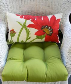 Shop for everything but the ordinary. More than sellers offering you a vibrant collection of fashion, collectibles, home decor, and more. Red Cushions, Chair Cushions, Bed Pillows, Lumbar Pillow, Blue Garden, White Cottage, Red Barns, Cushion Fabric, White Rooms