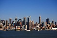 New York City Skyline and Hudson River. http://frank-romeo.artistwebsites.com/