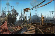 Armada City by Medhi.deviantart.com