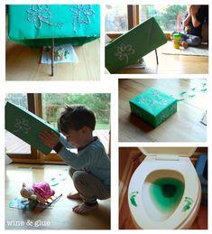 How to Trap a Leprechaun {Easy Leprechaun Bait} from Wine & Glue #leprechaun #trap