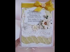 Create some really pretty cards using the borders die sets from Spellbinders. This one features the Bracket Borders and you are going to love the cards and e...