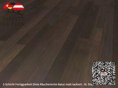 2-Schicht Fertigparkett Diele Räuchereiche Natur matt lackiert - XL Stab Format: 1200 x 120 x 11 mm 100 M2, Hardwood Floors, Flooring, Texture, Crafts, Room, Wood Floor, Humidifier, Wood Floor Tiles