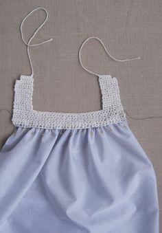 Sweet Crochet + Sew Dress | Purl Soho