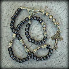 Skull Paracord Rosary - Memento Mori Skull Rosaries – CordBands