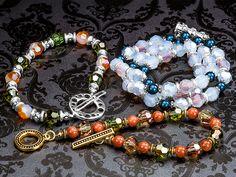 Special Coating Swarovski Bracelets, FREE idea at Artbeads.com