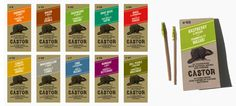 Castor Toothpicks give your everyday toothpick experience a fresh new taste