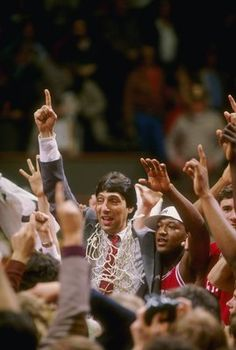 """Never give up! Failure and rejection are only the first step to succeeding.""  -Jim Valvano"