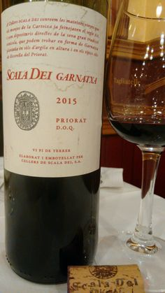 Scala Dei Garnatxa 2015 - DOQ Priorat - Bodegas Celler Scala Dei - Vino tinto joven, permanece de 6 a 8 meses en depósitos de acero inoxidable hasta su embotellado - 100% Garnacha - 14,5%