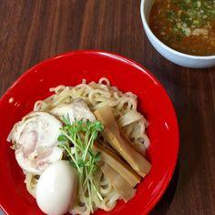 鳥華亭でつけ麺をいただきました酸味と少し辛味のきいた付け汁がGoo!!です#ramen #ramennoodles #ramenlover #tsukemen #つけめん #あつもり #instagramhub #instagram #instagramers #japaneseramen #太麺 by bq_foodie