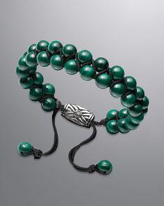 http://harrislove.com/david-yurman-spiritual-bead-bracelet-malachite-p-7845.html