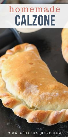 Jan 2020 - Easy to make homemade calzone recipe. Dough folded around sauce and fillings makes a wonderful baked calzone. Best Pizza Dough, Best Calzone Dough Recipe, Ground Beef Calzone Recipe, Italian Sausage Calzone Recipe, Homemade Dough Recipe, Homemade Stromboli, Relleno, Italian Recipes, Italian Foods