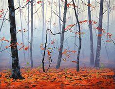 Graham Gercken - Fallen leaves