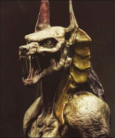 Imagine the ancient god of wisdom in flesh… (Ancient Egyptian mythology). Part V God's Wisdom, Egyptian Mythology, White Magic, Anubis, Satan, Dark Art, The Darkest, Mystery, Lion Sculpture
