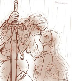 The Legend of Zelda / ゼルダの伝説 The Legend Of Zelda, Legend Of Zelda Breath, Wind Waker, Link Zelda, Twilight Princess, Breath Of The Wild, Cute Anime Couples, Kawaii, Nintendo