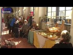 Hostinné - Velikonoční jarmark v klášteře - YouTube