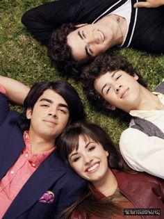 Demi,Joe,Kevin,and Nick