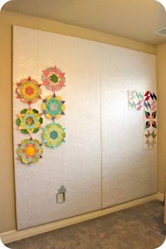 Sewing Over Pins: A Design Wall in The Clubhouse!