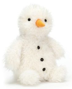 High quality soft toy Pudding Snowman by Jellycat. Jellycat, Snowman, Pudding, Teddy Bear, Toys, Garden, Christmas, Animals, Activity Toys