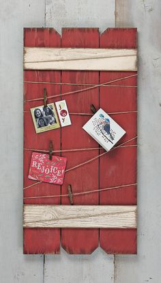 Pine Gate Card Holder - Acacia